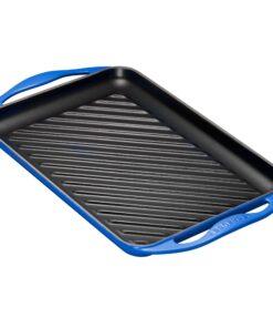 griglia-rettangolare-ghisa-smaltata-le-creuset-blu-marsiglia