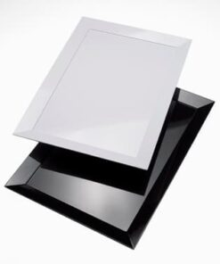vassoio rettangolare diamante