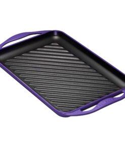 bistecchiera rettangolare viola