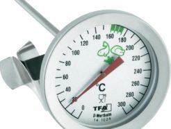 Termometro per grassi in acciaio