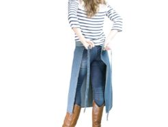 grembiule jeans